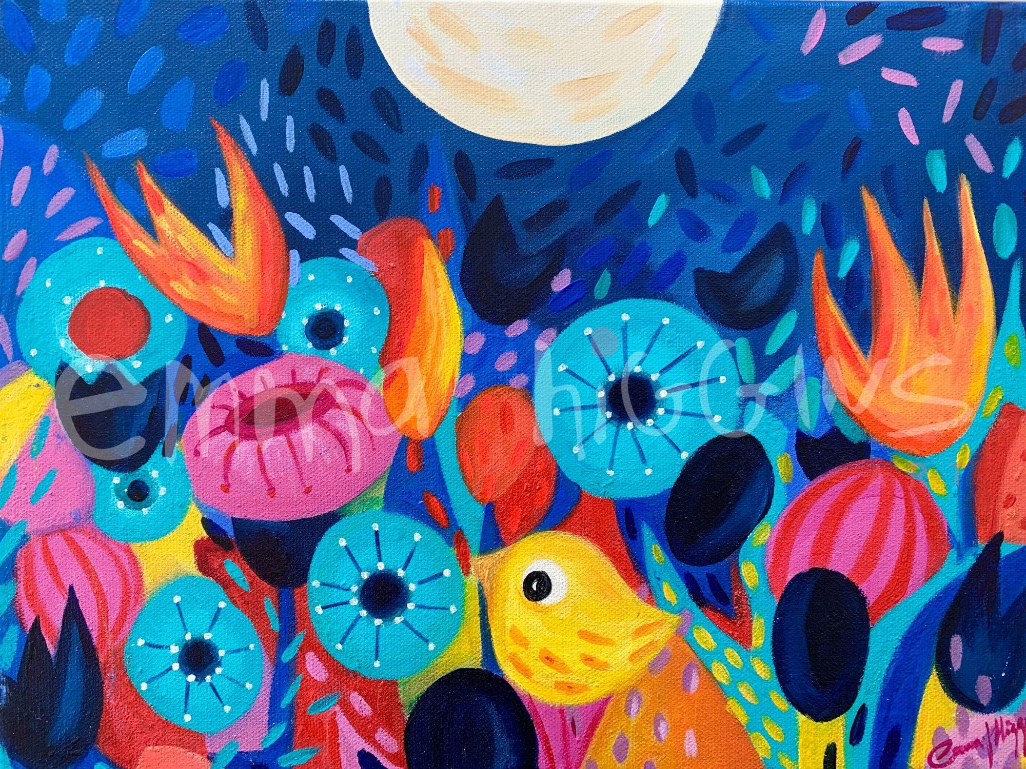 'Moondancing' 30 x 40 cm